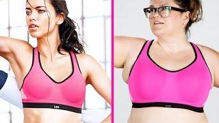 getlinkyoutube.com-Women Test The Fit Of Sports Bras