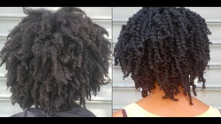 getlinkyoutube.com-Twist out with 4C Hair