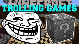 getlinkyoutube.com-Minecraft: ROBOT ALIEN TROLLING GAMES - Lucky Block Mod - Modded Mini-Game