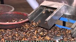 getlinkyoutube.com-Cashew shelling machine system