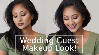 getlinkyoutube.com-Wedding Guest Makeup Tutorial | Makeup By Megha