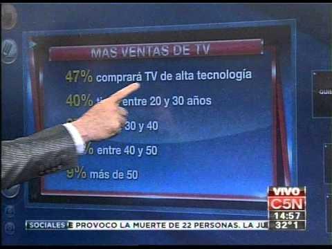C5N - CONSUMO: SUBEN LAS VENTAS DE TV POR EL MUNDIAL