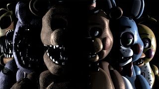 getlinkyoutube.com-FREE ROAM FIVE NIGHTS AT FREDDY'S 2 | Overnight 2 Redux
