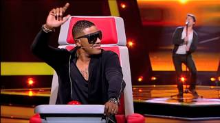"getlinkyoutube.com-Miguel Monteiro - ""Georgia on my Mind"" Ray Charles - The Voice Portugal - Provas Cegas - Season 2"