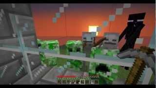 getlinkyoutube.com-Minecraft Wojna O Przetrwanie - Other Planet - Survival - #1