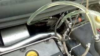 getlinkyoutube.com-Diesel System Purge Opel Zafira 2L