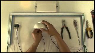 getlinkyoutube.com-Como instalar Interruptores Quinziño Mx de Bticino