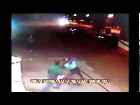 Briga iniciada em bar termina com facadas em Manhuaçu; veja imagens