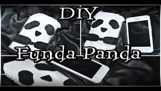 getlinkyoutube.com-DIY ♥ Funda de Panda para celular ♥ FÁCIL ♥