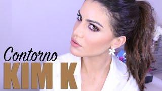 getlinkyoutube.com-Contorno de Kim Kardashian - como afinar o rosto com maquiagem! por Camila Coelho