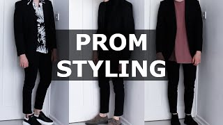 getlinkyoutube.com-How I Would Style a Suit for Prom | Mens Fashion | Gallucks | AD