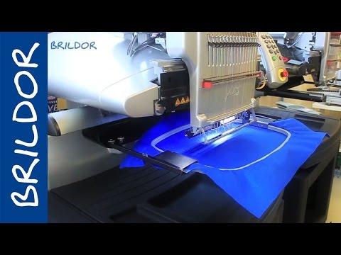 Técnica del aplique bordado