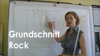 getlinkyoutube.com-Schnittkonstruktion Rock Grundschnitt