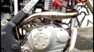 getlinkyoutube.com-Knalpot Racing KLX 150 ( Prospeed )