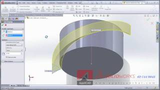 getlinkyoutube.com-Steel - Knurl -  SolidWorks