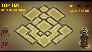 getlinkyoutube.com-CLASH OF CLANS - TOWN HALL 9 BEST TH9 WAR BASE ANTI GOWIPE, LAVA & BALLOON ANTI 2 STAR 2015 + REPLAY