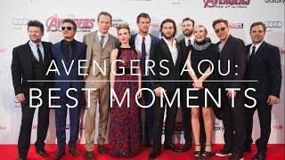 getlinkyoutube.com-Avengers Age of Ultron Cast: Funny Moments