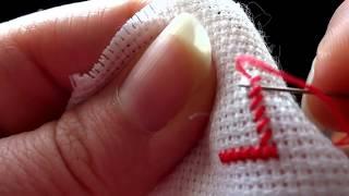 getlinkyoutube.com-Вышивка крестом: Процесс вышивки крестом для начинающих / Мой метод вышивки крестом