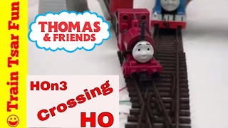 Skarloey Narrow Gauge Thomas the Tank Engine Dual Gauge Train Crossing
