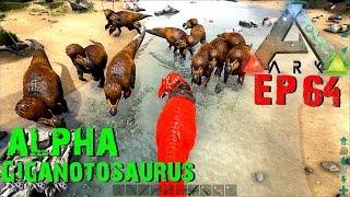 getlinkyoutube.com-BGZ - ARK: Survival Evolved EP#64 จับมหาเทพAlphaGiganotosaurus