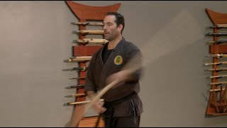Advanced Ninjutsu Training- Bojutsu Rokushaku Bo- Six Foot Bo Staff Technique For Bujinkan Ninjutsu