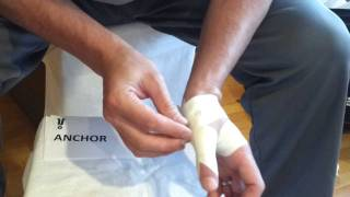 getlinkyoutube.com-Thumb Taping | Tape Your Own Thumb for Volleyball, Basketball and other Wrist Mobility Sports
