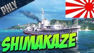 getlinkyoutube.com-World Of Warships SHIMAKAZE Tier 10 Japanese Destroyer! EPIC TORPEDO'S!