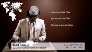 Mon Afrique.l'homme stylo A.R.N