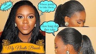 getlinkyoutube.com-Detailed Info on my Needle Braids