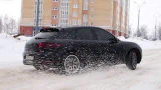 getlinkyoutube.com-Porsche Maсan S Тест-драйв.Anton Avtoman.