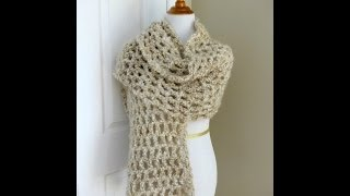 Episode 61: How to Crochet the Vanilla Chai Shawl
