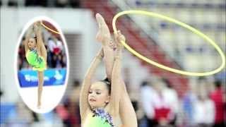 getlinkyoutube.com-Averina Dina and Arina. Rhythmic gymnastics Russia 1998