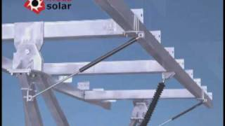 MECASOLAR: 2 Axis Solar Tracker. Composants