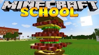 Minecraft School : MAKING EPIC SANDWICHES!