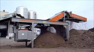 getlinkyoutube.com-ARJES Bunkersieb / Raptor XL - Aufbereitung von Biomasse / biomass processing