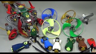 getlinkyoutube.com-레고 닌자고 에어짓주 6종과 로닌 REX Lego ninjago Airjitzu Flyer 장난감 소개 리뷰와 놀이 방법