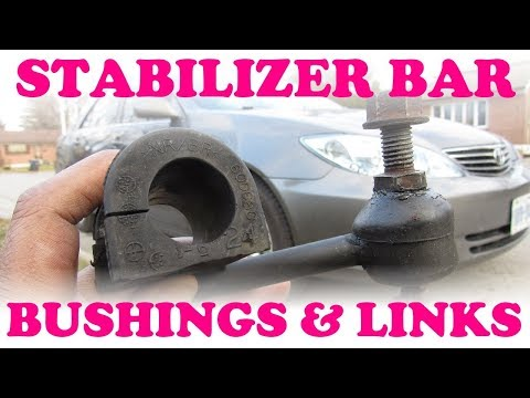 How to Replace Sway Bar Bushings and Stabilizer Links