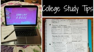 Best College Studying Tips!