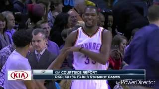 Kevin Durant & Westbrook dance to