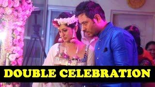 getlinkyoutube.com-Double Celebration : Shefali Sharma and Varun Sethi's 1st Wedding Anniversary, Janmashtami Pooja