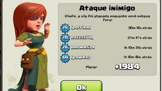 getlinkyoutube.com-MELHOR LAYOUT CV6 TROLL FARM WAR - CLASH OF CLANS