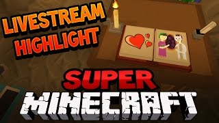 getlinkyoutube.com-SAVE THE FANFICTION | Super Minecraft Live Stream Highlight