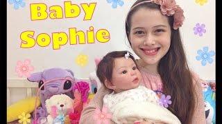 getlinkyoutube.com-Bebê Reborn - Mais detalhes da Sophie with English Subtitles Julia Silva
