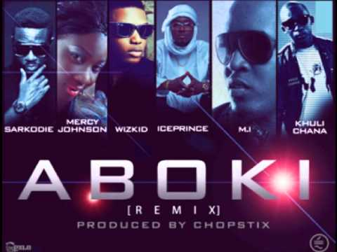 IcePrince ft Khuli, Mercy Johnson, Wizkid, M.I &amp; Sarkodie -- (ABOKI OFFICAL REMIX) {2013}