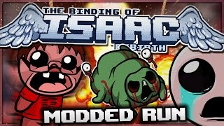 getlinkyoutube.com-The Binding of Isaac: Rebirth - Modded Run: Worst Nightmare!