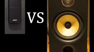 getlinkyoutube.com-Bose Lifestyle 535 Series 3 Vs. Bowers and Wilkins Speakers
