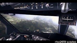 getlinkyoutube.com-Flight Simulator X FSX HD Maxed Out Graphics 2016 / PMDG NGX landing!