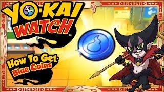 getlinkyoutube.com-Yo-Kai Watch - How To Get Infinite Blue Coins & RARE Count Cavity EASY! [Tips & Tricks]