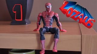 getlinkyoutube.com-SPIDERMAN Stop Motion Action Video Part 1