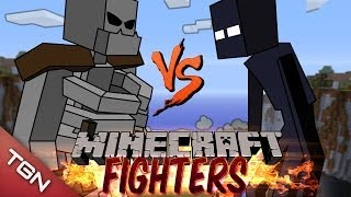 MUTANT SKELETON VS MUTANT ENDERMAN : MINECRAFT FIGHTERS - Arena Battle